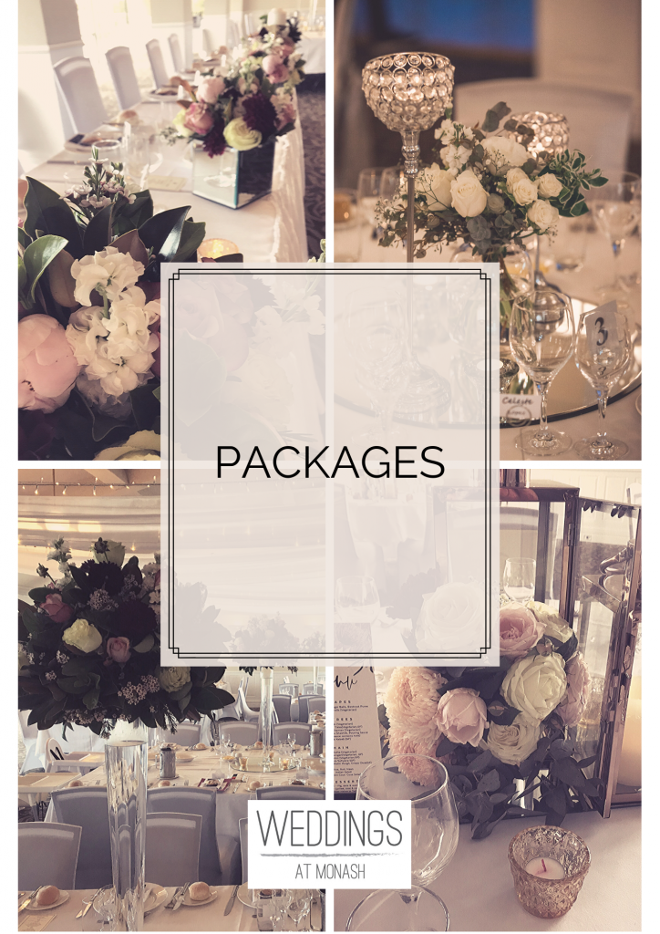 Prices and packages Weddings at Monash Country Club